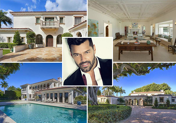 5030 North Bay Road and Ricky Martin