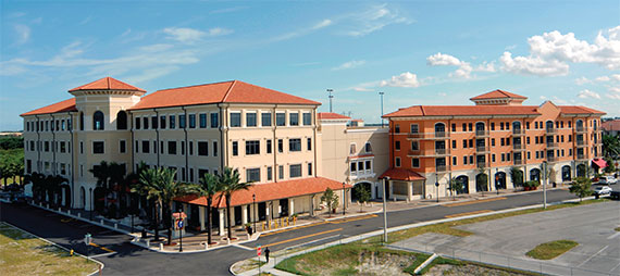 Construction is underway on Miramar Town Center, a 54-acre project with a new city hall and residential, retail and office space.