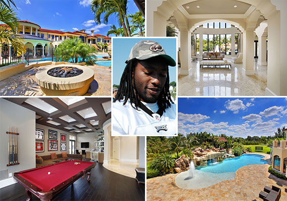 Asante Samuels and his Southwest Ranches estate