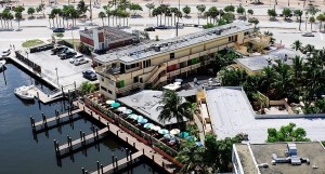 An aerial view of the Bahia Cabana Beach Resort in Fort Lauderdale