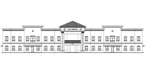 A drawing of D.R. Horton's new Southeast Florida division headquarters