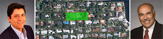 Jose Perla, map of Coconut Grove properties and Roland Dupoy