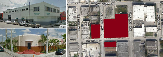 Miami Rescue Mission properties on the market in Wynwood