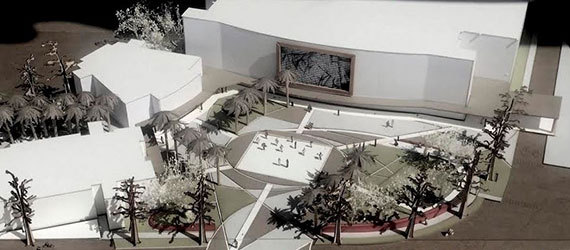 A rendering of the Pembroke Pines Civic Center