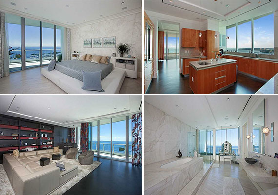 Claudia Potamkin's penthouse in Coconut Grove