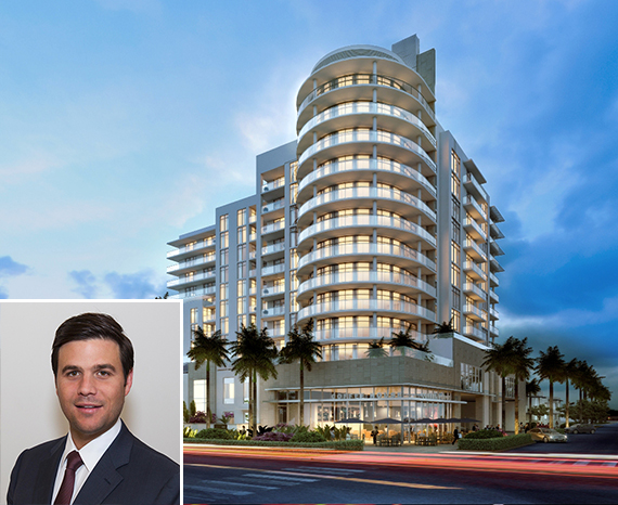 Rendering of the Gale Fort Lauderdale and Daniel de la Vega of ONE Sotheby's