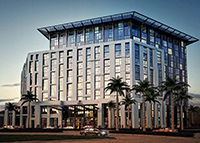 Rendering of the Hilton West Palm Beach by NBWW