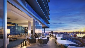 Turnberry Ocean Club sunset bar lounge