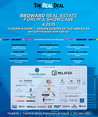 The Real Deal South FloridaBroward Real Estate Forum and Showcase