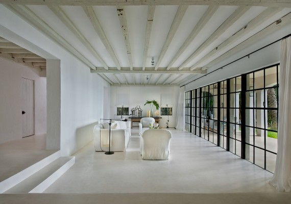 Calvin Klein's Miami Beach home