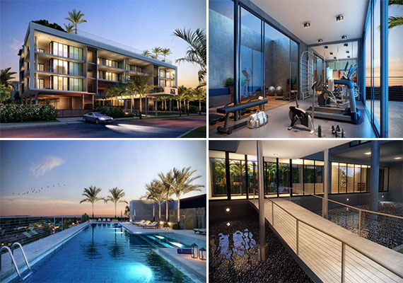 Renderings of 101 Key Biscayne, which is set to open next month