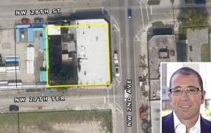 2722 Northwest Second Avenue in Wynwood and Joseph Sitt of Thor Equities