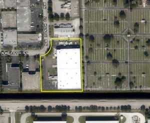 The warehouse at 2901 Northwest 104th Court in Doral