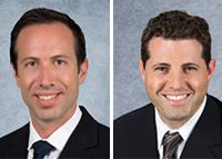 Brokers Benjamin Silver and Douglas Mandel