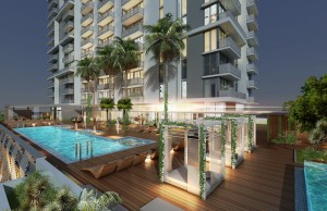 District 36 pool and amenities deck