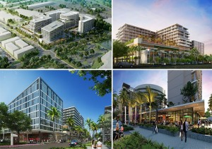 Renderings of Aventura ParkSquare