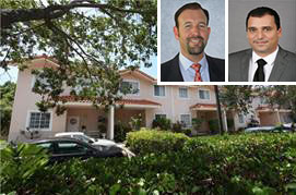 The Chateaux Gardens Townhomes and Arthur D. Porosoff and David M Cohen of brokerage Marcus & Millichap.