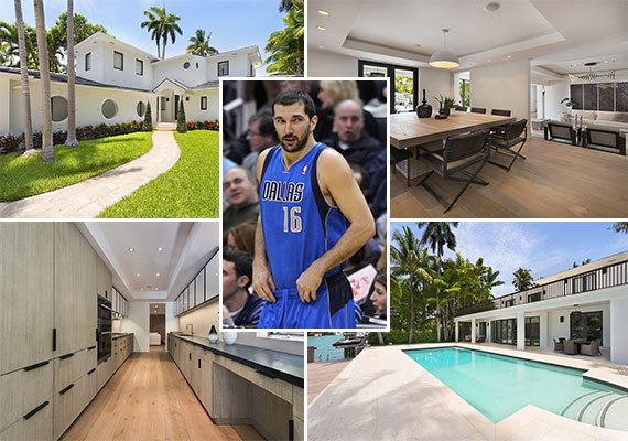 The home at 1611 West 24th Street and former NBA player Peja Stojaković (Credit: Keith Allison)
