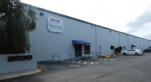 The industrial center at 2030 West McNab Road in Fort Lauderdale