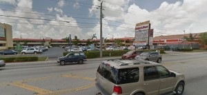 The shopping center at 3800 West 12th Avenue in Hialeah