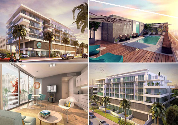 Renderings of the condo hotel at 6080 collins avenue
