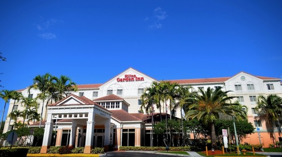 The Hilton at 14501 Hotel  Road in Miramar