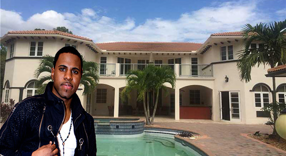 Jason Derulo and 7555 Northwest 39th Avenue in Coconut Creek
