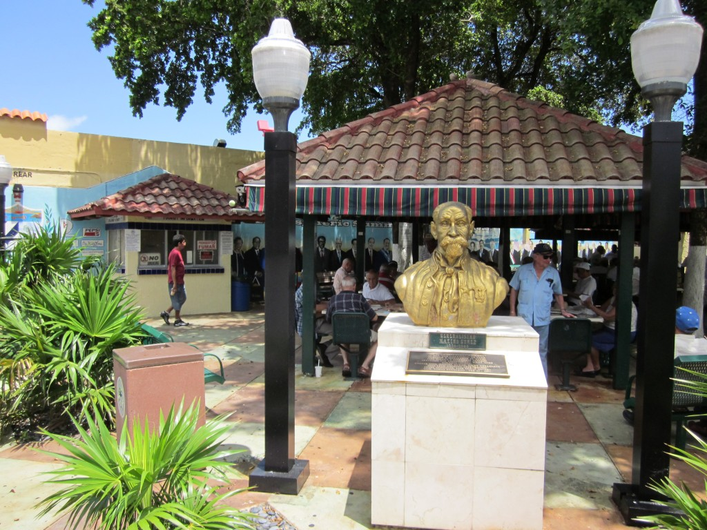Domino Park, a well-known Little Havana landmark (Credit: Infrogmation)