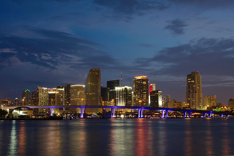 Miami skyline (Credit: Creative Commons)