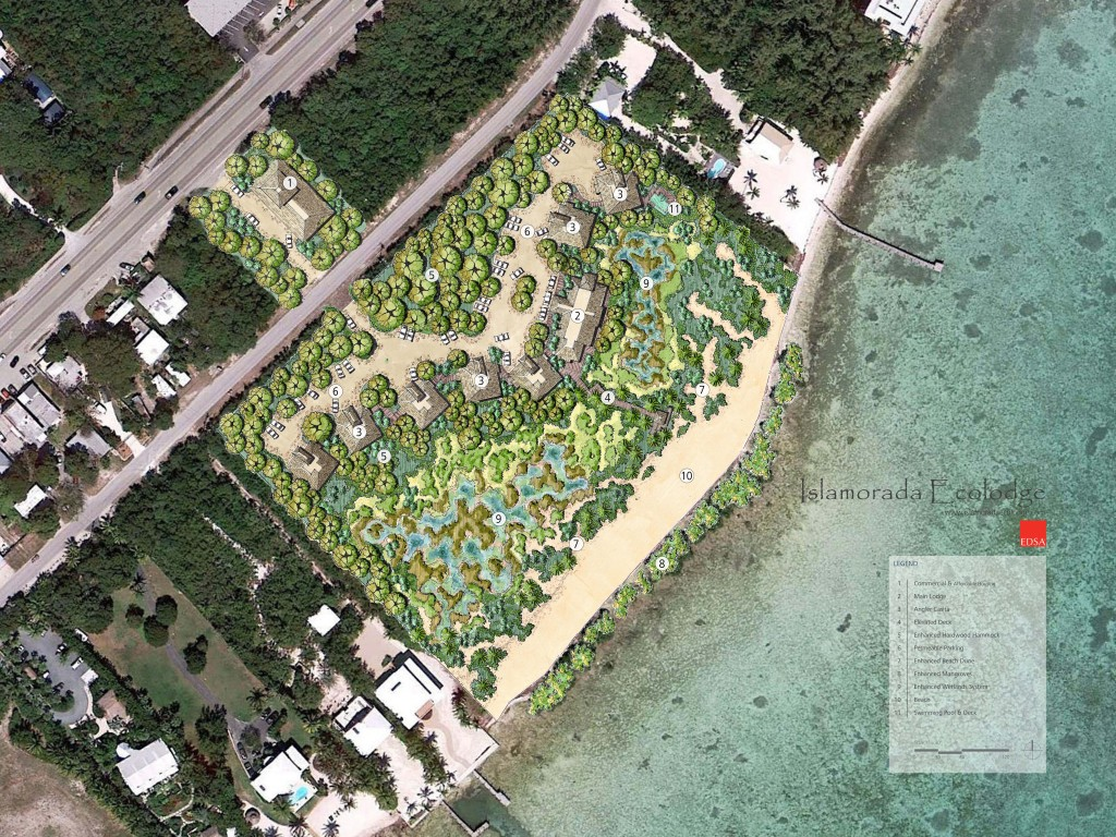 Plans for the Islamorada Ecolodge