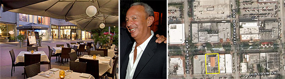 920 Grill, David Edelstein and a map of Lincoln Road