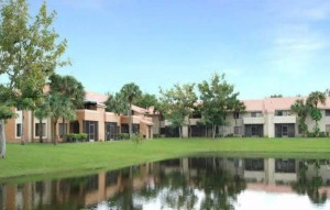 The apartments at the Crescent Cove complex in Coral Springs