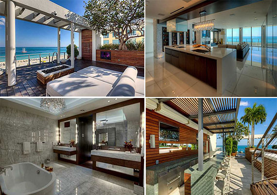 The penthouse in South Beach's Ocean House