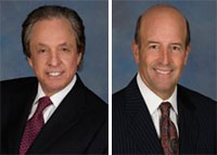 Peter Bren and Charles J. Schreieber, president and CEO of KBS Realty Advisors, respectively