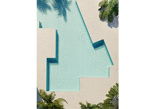 Rendering of the planned Shore Club pool