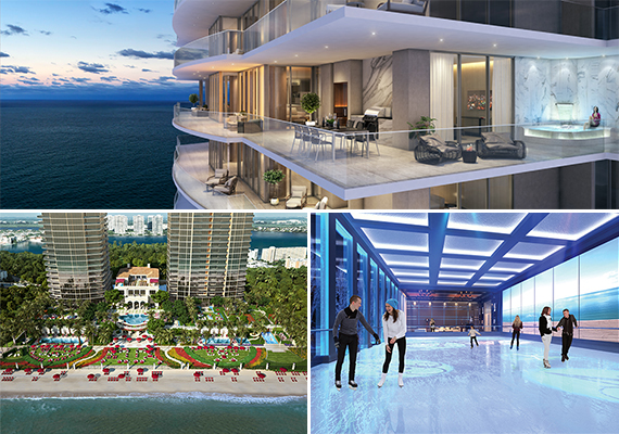 Renderings of the Estates at Acqualina