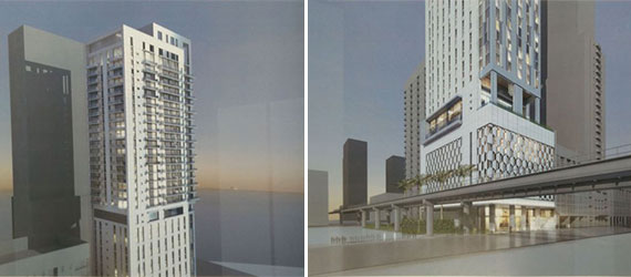 Renderings for the Yotel Hotel in Miami (Credit: The Next Miami)