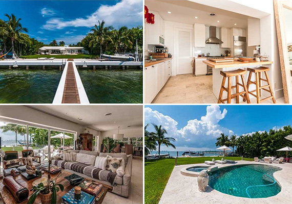 210 Harbor Drive in Key Biscayne