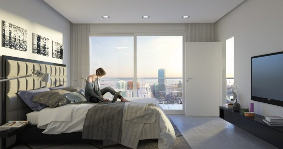 Brickell Heights bedroom