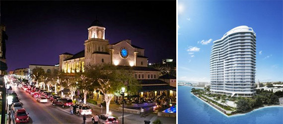 CityPlace West Palm Beach and the Bristol