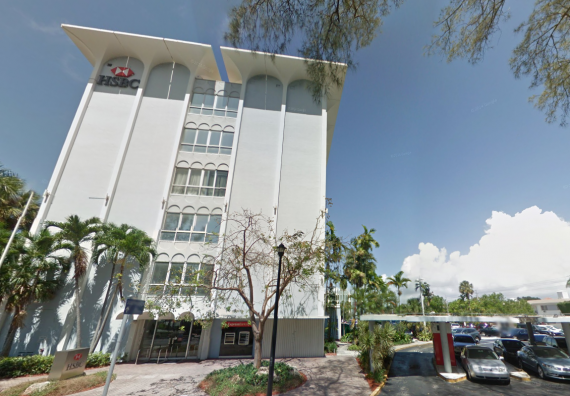 The HSBC Bank building in Miami Beach