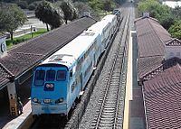 The Tri-Rail Sheridan Street Station (Credit: Wikipedia.org)