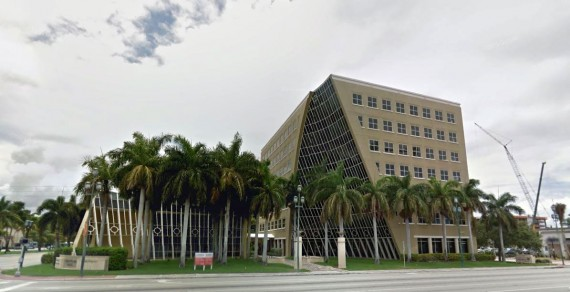 The Wells Fargo Plaza at 925 South Federal Highway in Boca Raton