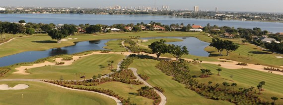 A photo of the course from the country club's website