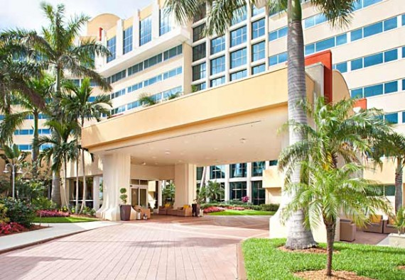 The Marriott in West Palm Beach