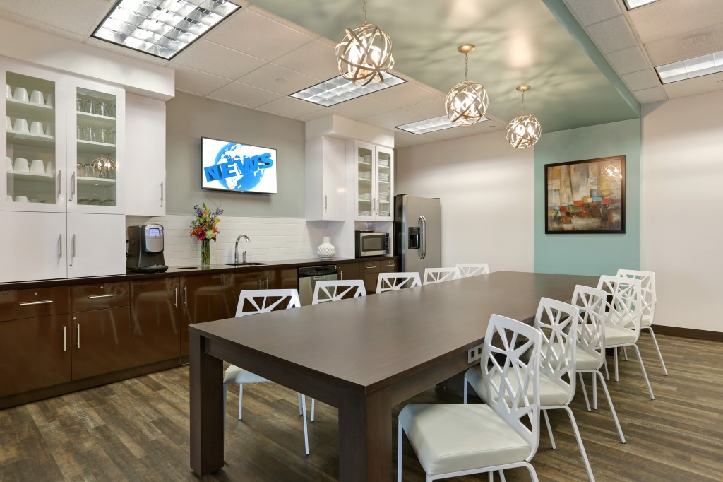 Regus Columbus Center refresh in Coral Gables, Florida
