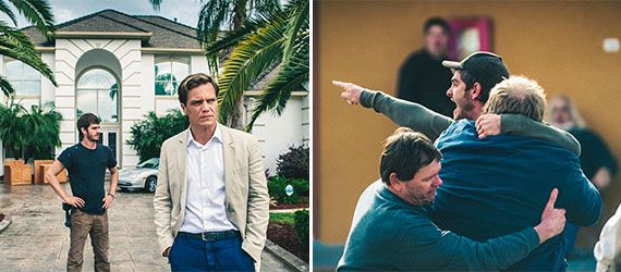 "Scenes from the upcoming movie ""99 Homes,"" which focuses on Florida's climate during the late 2000's"