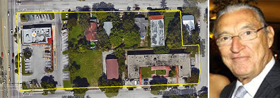 The properties between Northeast 34th and 33rd streets, and Jose Alfonso Jose Afonso Assumpcao