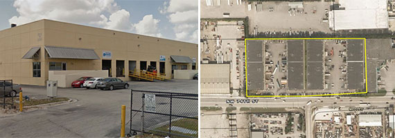 The Miami Industrial Trade Center, located at 8455 Northwest 74th Street in Medley