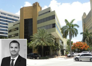 RelatedISG International Realty president Alex Vidal and the firm's new office in Coral Gables